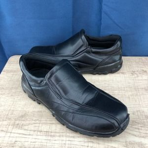 Deer Stags (5.5 boys) Recess Black Loafers